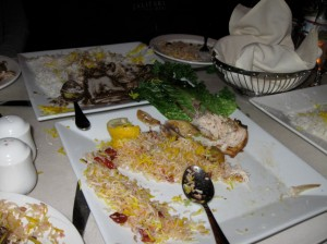 Yummy Iranian Food