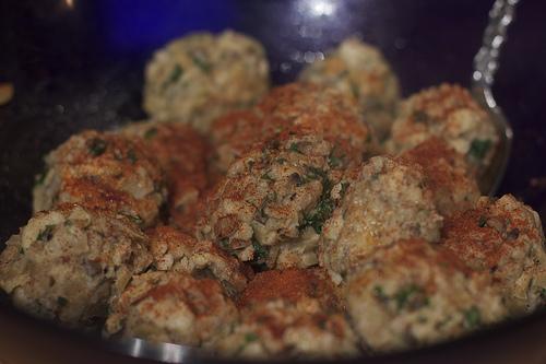 root vegetable dumplings