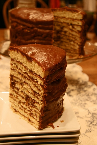 Little Chocolate Layer Cake