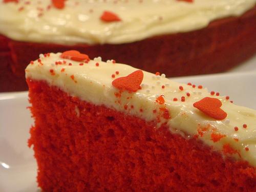 Red Velvet Heat Cake